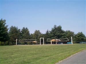 Sand Volleyball Court at Elm Avenue Park
