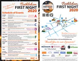 BCC-First-Night-2020-Schedule-And-Map
