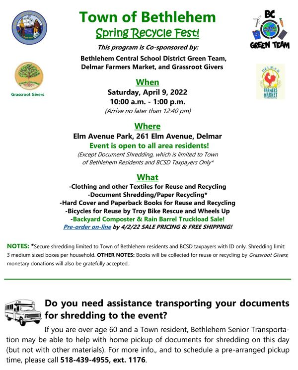 2020 Fall Pharmaceutical Collection Day flyer